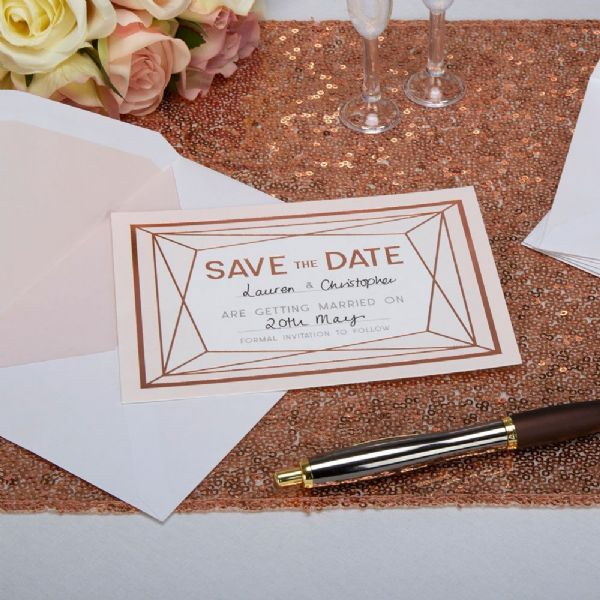 Geo Blush Save The Date Cards (10)
